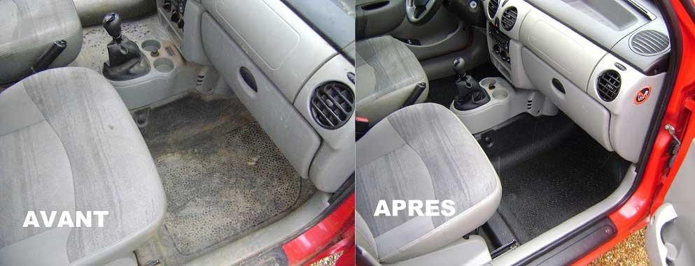 Nettoyage intérieur de véhicule - TEZEA - l\'entreprise à but d\'emploi